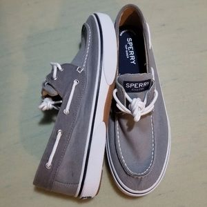 Sperry Topsider Canvas Boat Shoes